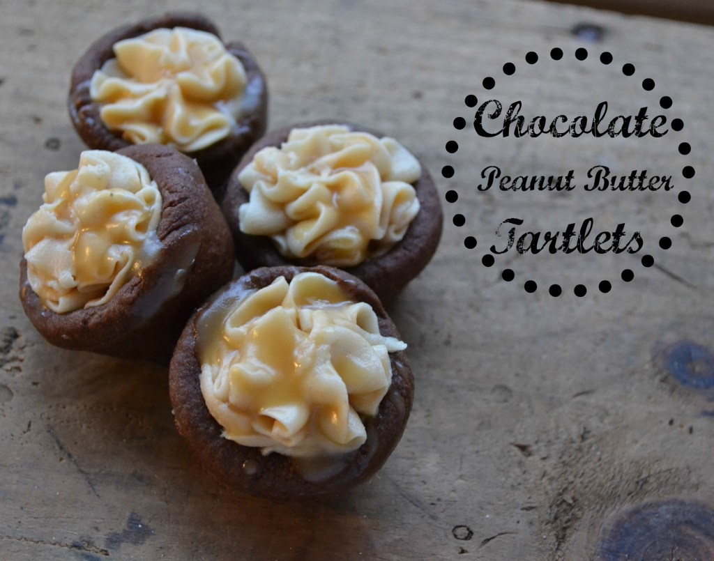 Chocolate Peanut Butter Tartlets - Red Cottage Chronicles