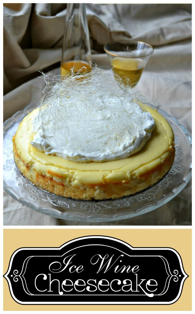 Do you have a special celebration coming up? This Ice Wine Cheesecake is the perfect dessert