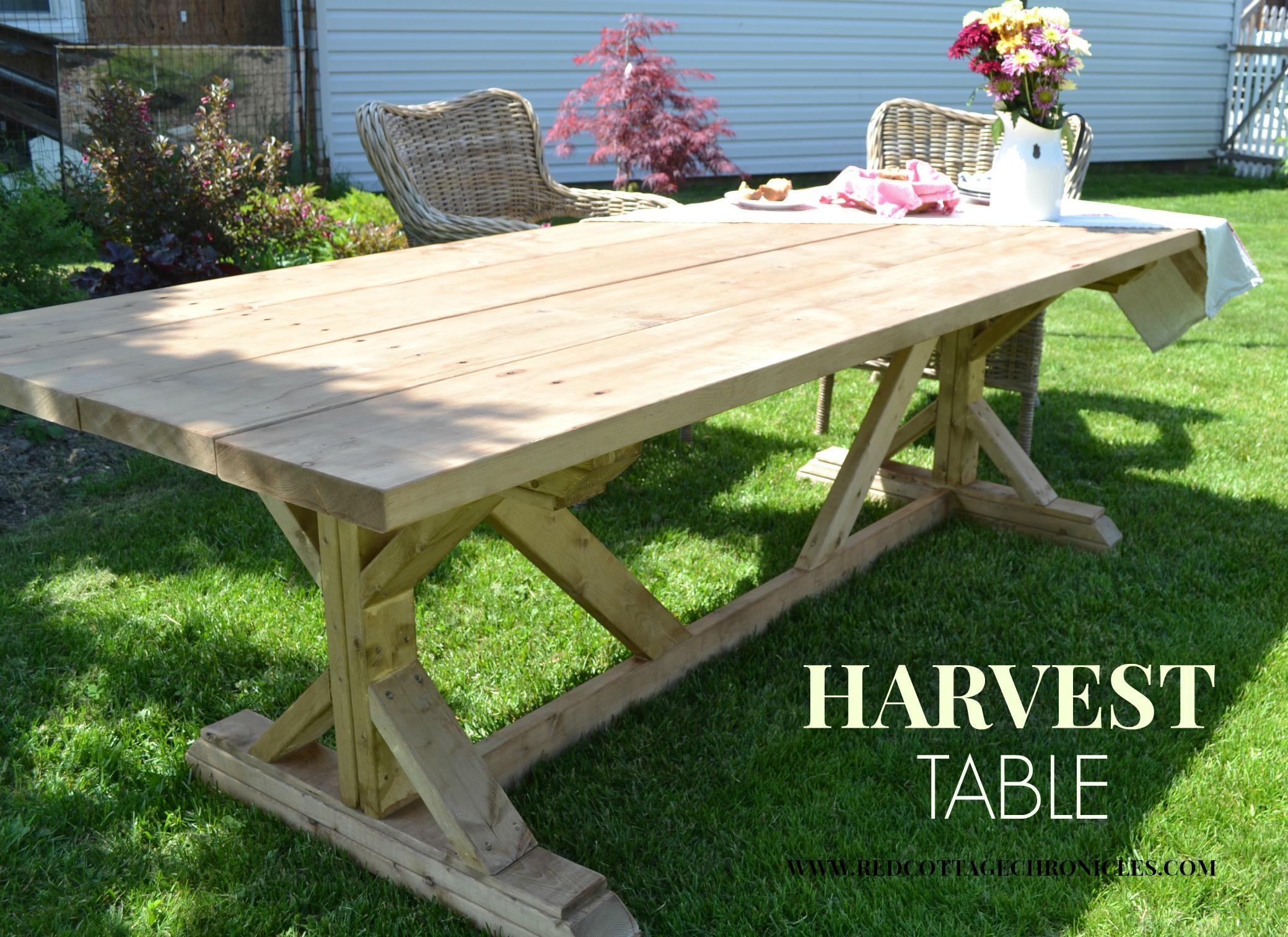 Ana White Harvest Table