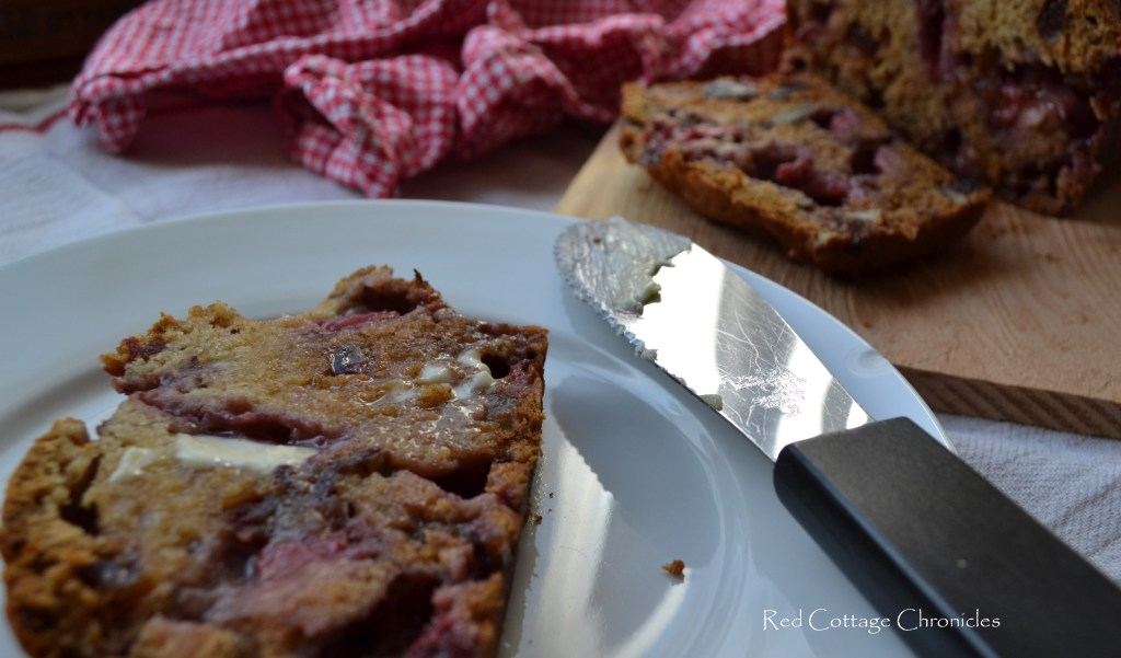 Strawberry Date Pecan Loaf