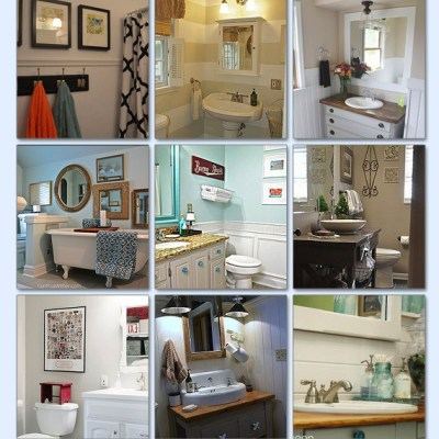 Small Bathroom Makeovers!