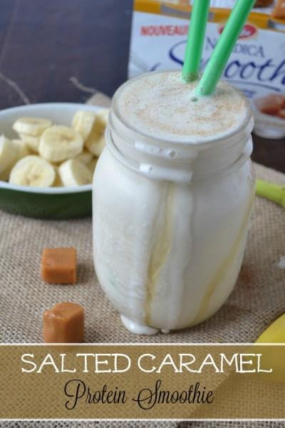 Salted Caramel Protein Smoothie