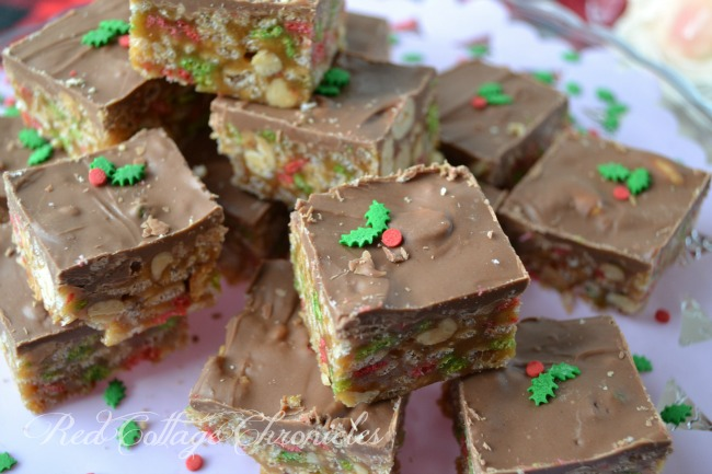 Holiday Sweet Marie Bar Recipe