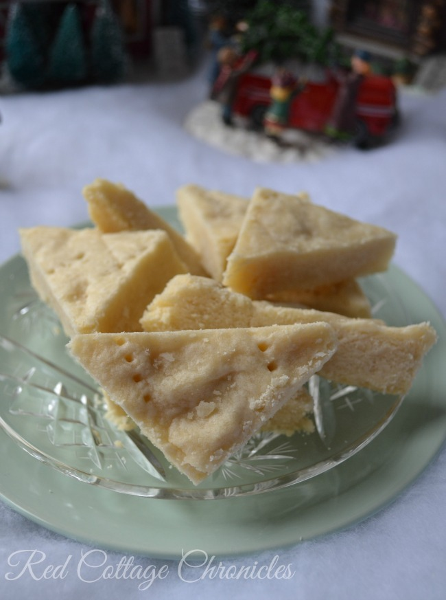 A Christmas tradition past down through the years. Nana's Scotch Shortbread recipe