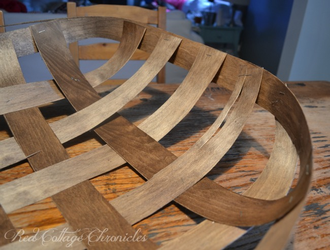 An easy DIY decorative tobacco basket tutorial