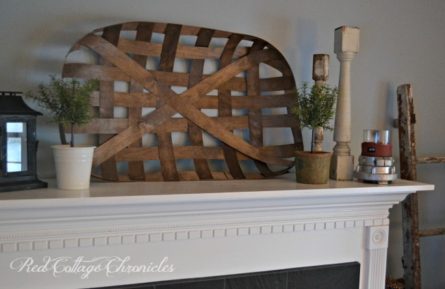 Best of Red Cottage Chronicles An easy DIY decorative tobacco basket tutorial