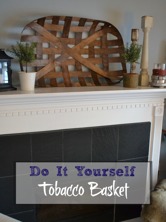 A tutorial to make an easy DIY decorative Tobacco Basket