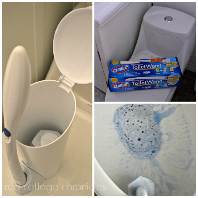 Make cleaning the toilet fun!