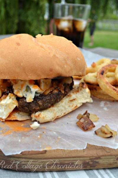 Buffalo Wing Burger – #SundaySupper