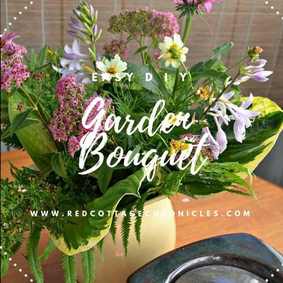 DIY Garden Flower Bouquet