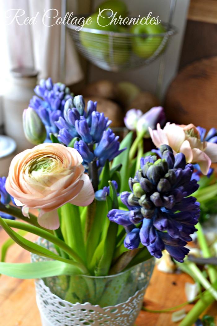market flower bouquets