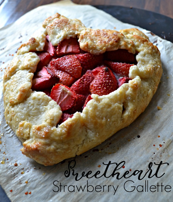 strawberry gallette - year in review