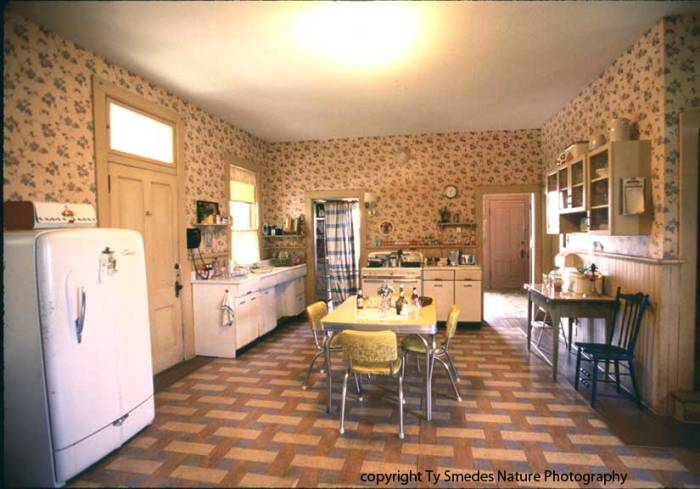 Famous Movie kitchens Bridges of Madison County