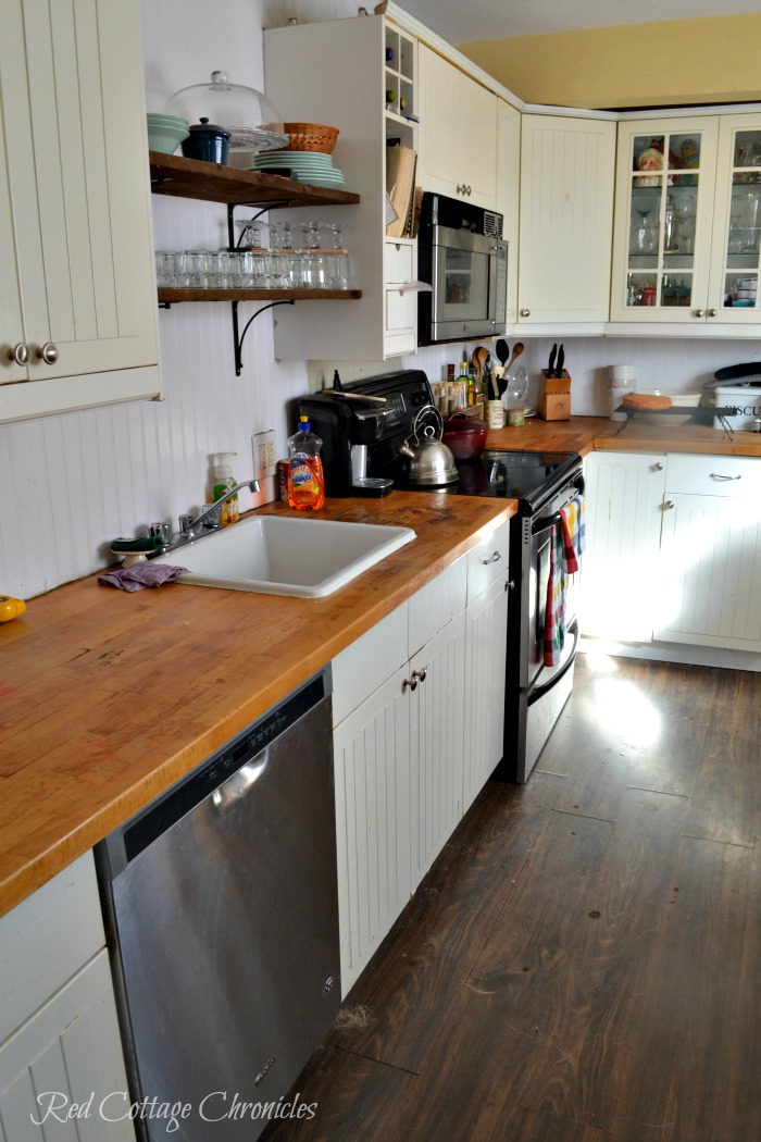 One Room Challenge Kitchen Renovation on a budget