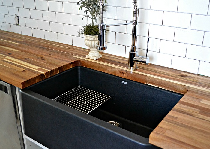 Blanco Silgranit IKON sink is the perfect farmhouse sink - year in review