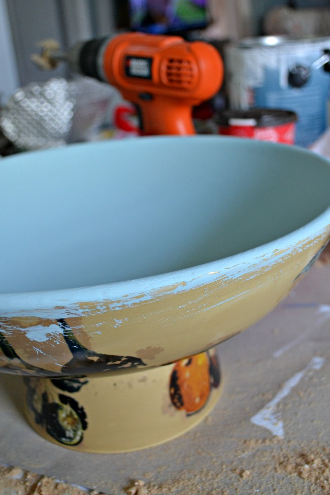 DIY Birdbath ideas were on my mind when I was shopping for this months Upcycle Challenge