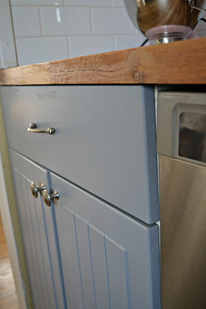 Kitchen Reveal Para Paints Fort Garry Gray