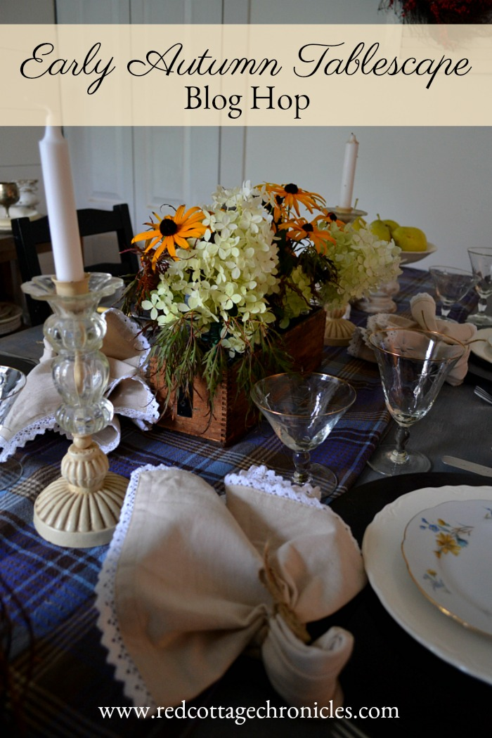 Early Autumn Tablescape Blog Hop 5 Days Of Fall Table