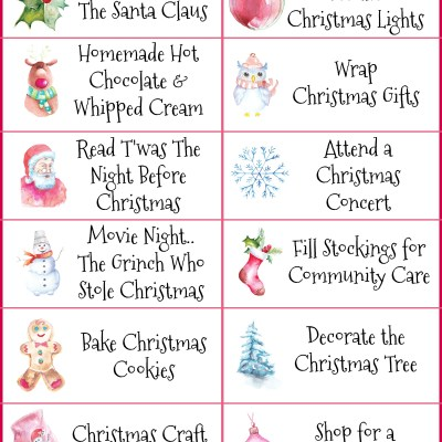 Christmas Traditions and a Free Printable