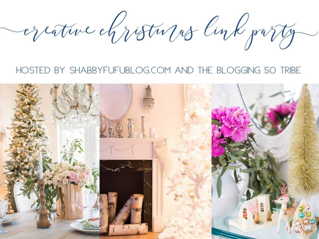 Creative Christmas Blog Hop Christmas Mantels