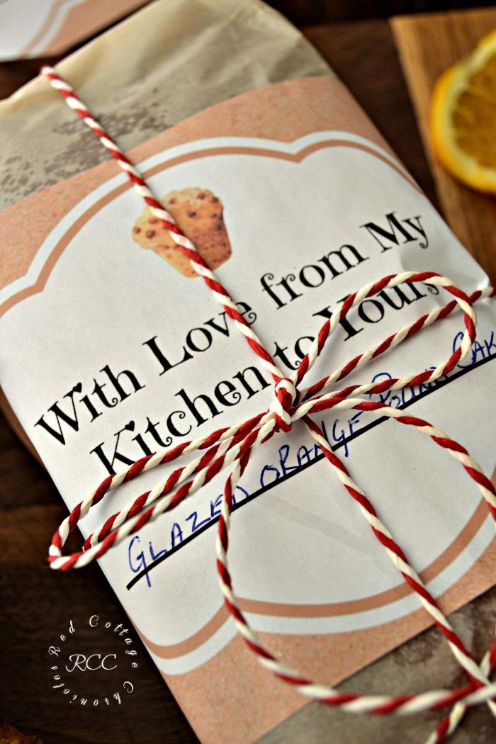 Edible Gifts - Cranberry Orange Walnut Bread