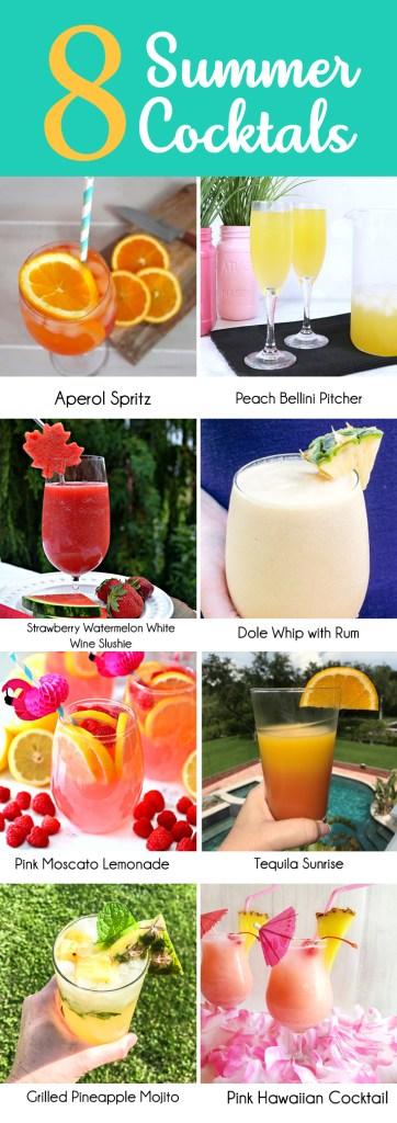 Summer Cocktail Series Strawberry Watermelon White Wine Slushy