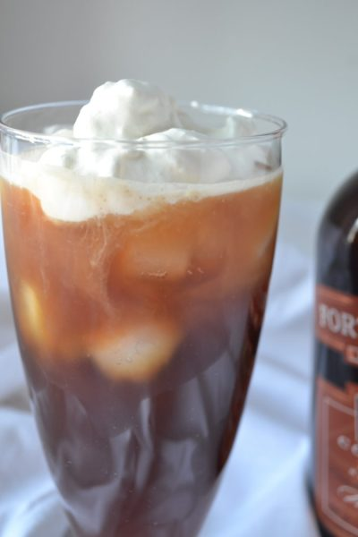 Canadian Frost – Whiskey and Maple Infused Iced Coffee