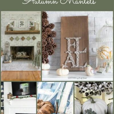 12 Gorgeous Autumn Mantels