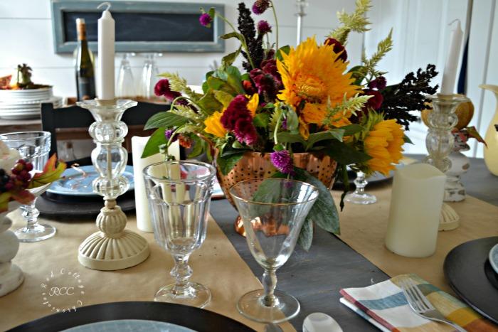 autumn tablescape blog hop