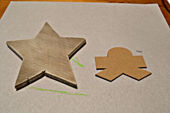 Wood DIY Christmas Ornament