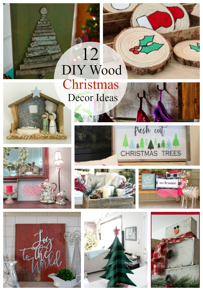 12 diy wood christmas decor ideas red cottage chronicles