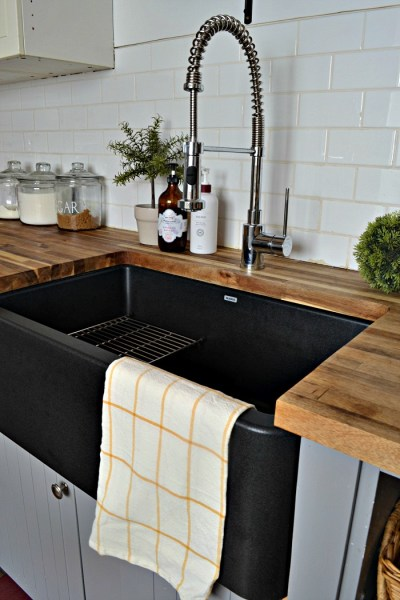 Our Black Farmhouse Sink – Two Years Later