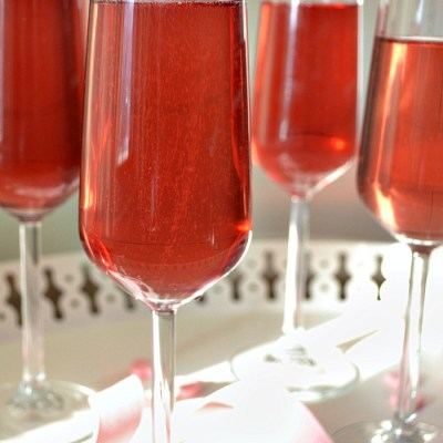 Blush – A Sparkling Wine Cocktail