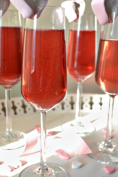 Blush – A Sparkling Wine Cocktail