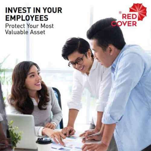 AIA Employee Benefits Insurance Red Cover
