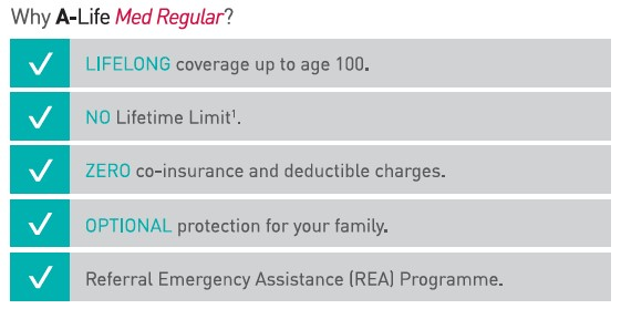 AIA Medical Insurance Benefits
