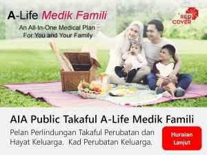 AIA Takaful Famili Medik Insurance Plans