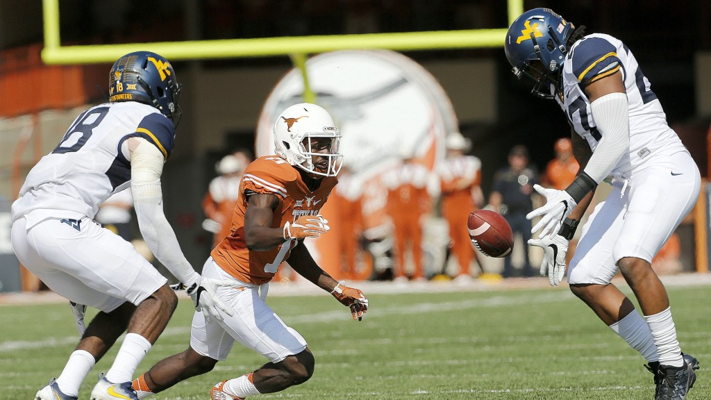 West Virginia takes thriller over Texas behind a gutsy performance from  Grier 04e82c54f