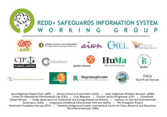 REDD+ Safeguards Information System Working Group