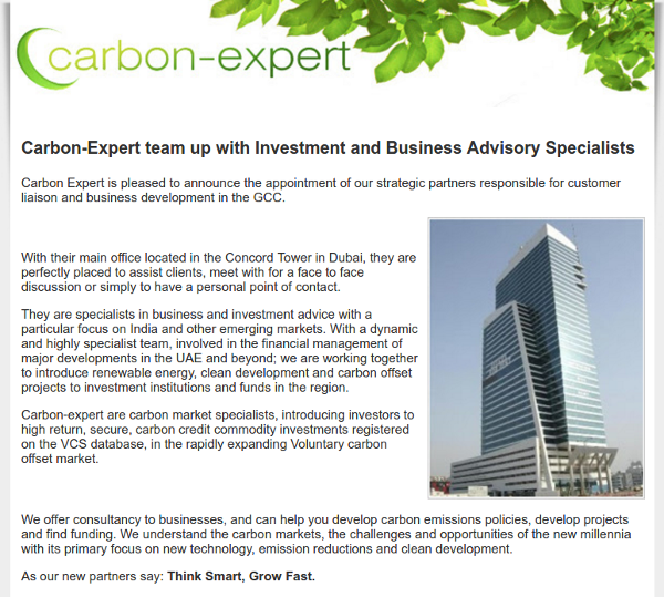 Investing In Carbon Credits