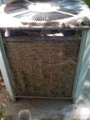 maintenance HVAC unit