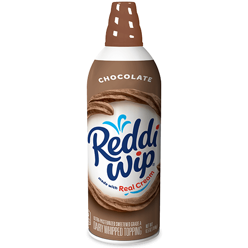 Chocolate Whipped Topping Made From Real Chocolate Cream