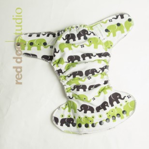 100% Organic cotton elephants
