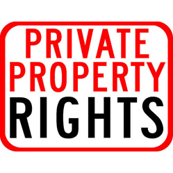 """""""Right to property might no longer be a fundamental right but it still is a constitutional right and also a human right"""""""