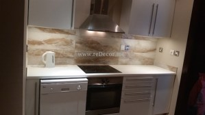 old kitchen upgrade in Dubai, tecom Two towers . Fit out, turn key, design kitchen, Small change big difference
