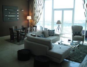 Living dining interior classy design dubai