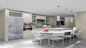 marina crown dubai, dubai marina, kitchen remodelling, design, renovation, al meera kitchen, corian