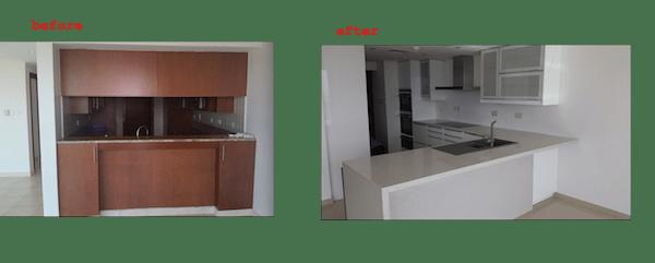 kitchen fit out, dubai, design, remodelling, renovations, greens, fairways, modern kitchen