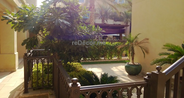 dubai landscaping, hardscaping, potted plants, downtown garden, pool fitout