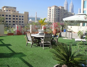 exterior design garden terrace dubai